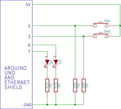 Tactile Push On Switch Circuit Diagram on raspberry pi led wiring