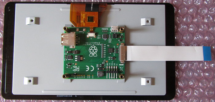 Raspberry PI Touchscreen Connection for 7in  Touch Display