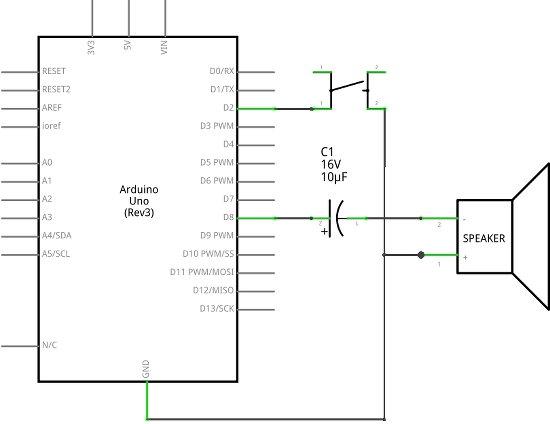 Tune Replay Loudspeaker Project Circuit Diagram