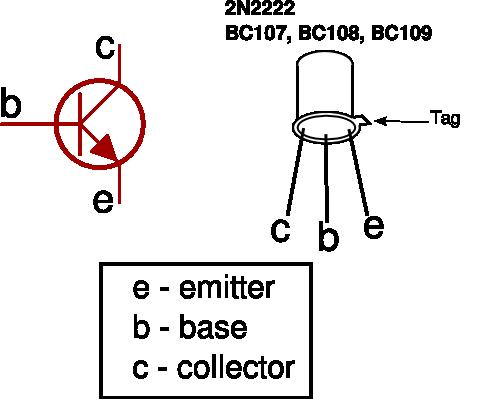 transistor transistors for beginners in electronics Diode Pin Diagram