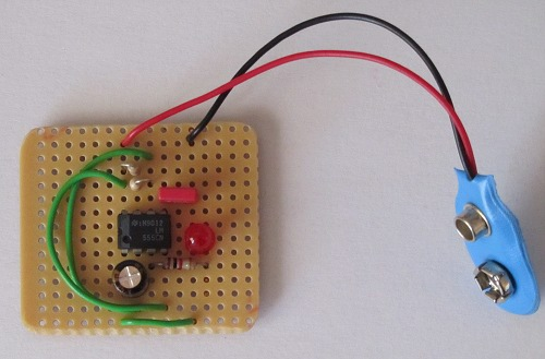 making a stripboard circuit