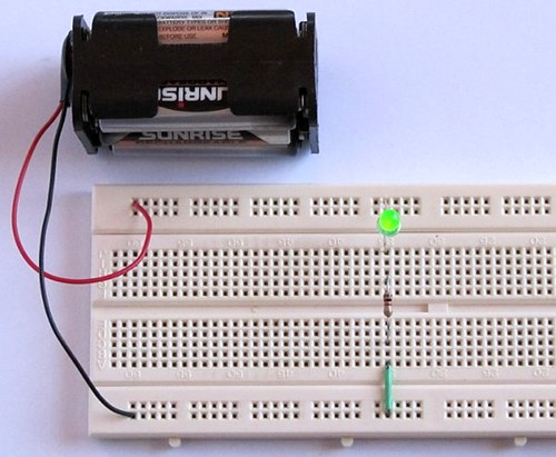 Tutorial 1: Building a Circuit on Breadboard for Beginners in ...
