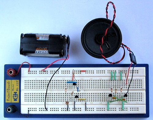 Tutorial 11: Light Activated Alarm Circuit for Beginners
