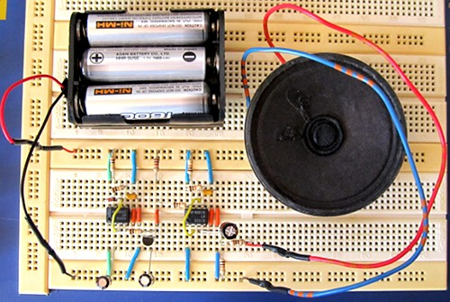 Tutorial 13: Wailing Siren Circuit for Beginners in Electronics