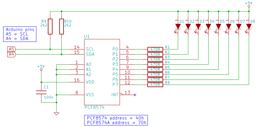 Rider Led Circuit Diagram 28 Images Build The Knight Rider