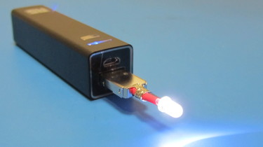 Home Built USB LED Torch