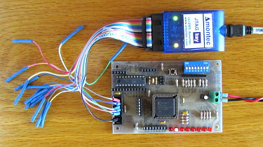 Programming a CPLD with the Amontec JTAGkey