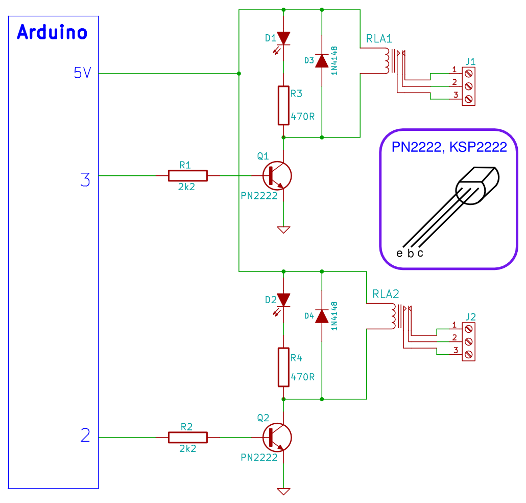 Arduino Project Tiny Relay Shield Usb Switch Schematic Circuit Diagram