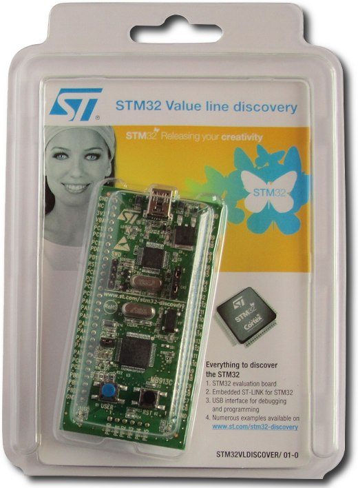 STM32 Value Line Discovery Review