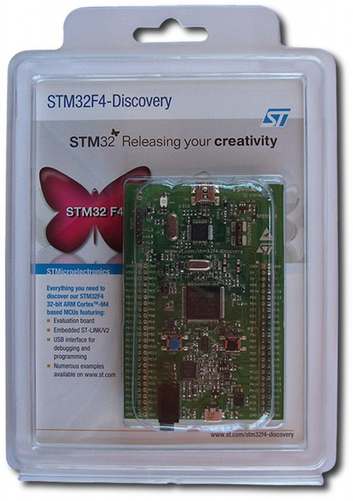 STM32F407 Discovery Kit for STM32F407 - Robu in | Indian Online