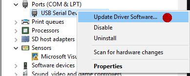 Arduino software download windows 8