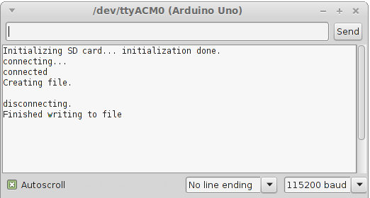 How to Save a Web File to the Arduino SD Card using Ethernet