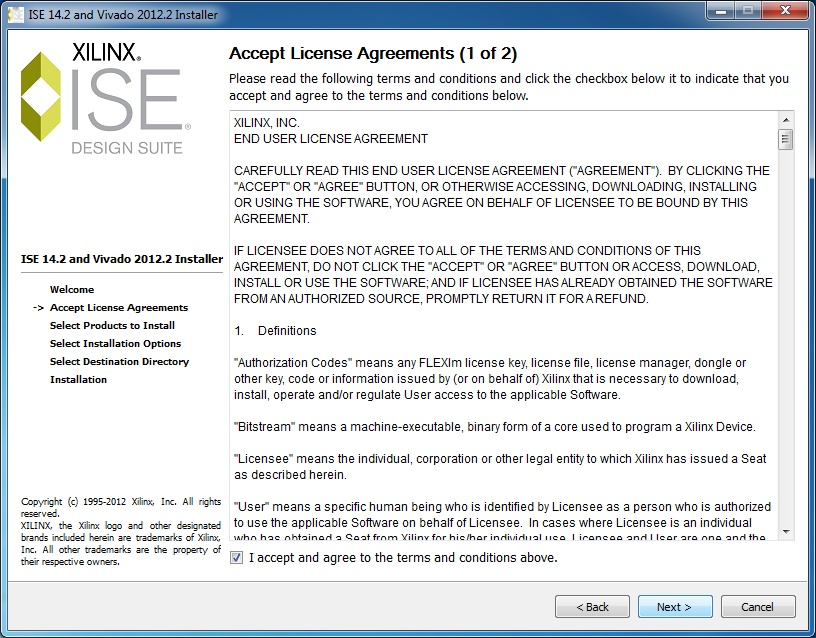 Installing the Xilinx Software Tools - ISE Design Suite 14