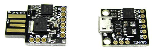 Digispark and compatible boards