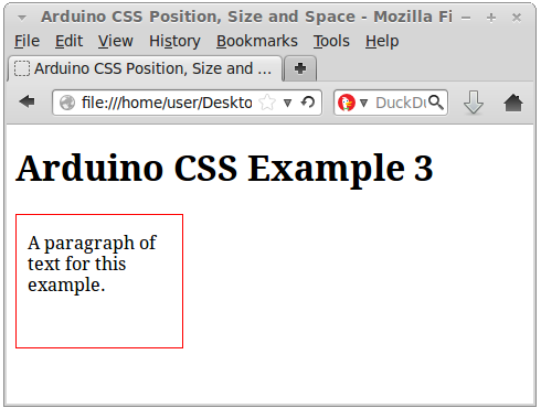 Css for positioning sizing and spacing - Div and css ...