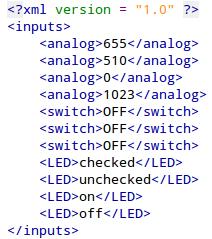 Arduino Webserver Input and Output