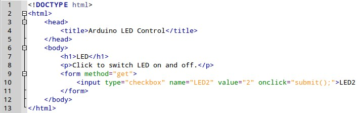 LED Control with Arduino Ethernet Shield Web Server
