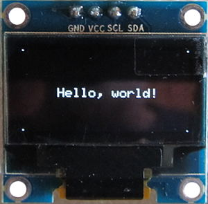 0 96 Inch OLED I2C Display 128 x 64 | Arduino Tutorial