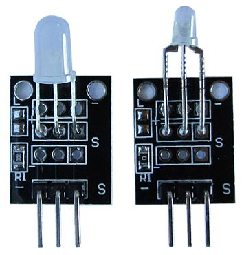 Common Cathode Red and Green LED Module Arduino Tutorial